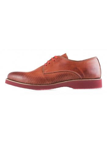 Туфли кожаные BEFEETGERALD (Portugal) 2929 светло-коричневые