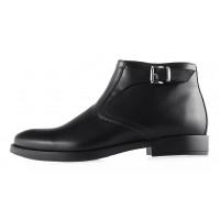 2938 CONHPOL (Poland ) Ботинки осенние кожаные черные