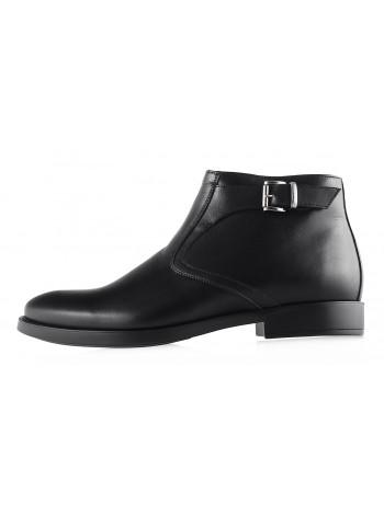 Ботинки осенние кожаные CONHPOL DYNAMIC (Poland ) 2938 черные