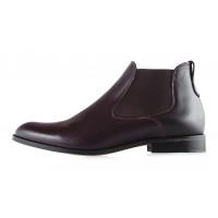 Ботинки осенние кожаные CONHPOL DYNAMIC (Poland ) 2939 коричневые