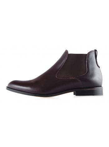 2939 CONHPOL (Poland ) Ботинки осенние кожаные коричневые