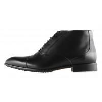 2942 CONHPOL (Poland ) Ботинки осенние кожаные черные