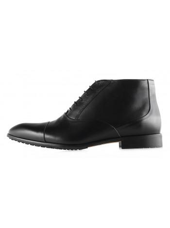 Ботинки осенние кожаные CONHPOL DYNAMIC (Poland ) 2942 черные