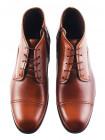 Ботинки осенние кожаные CONHPOL DYNAMIC (Poland ) 2944 светло-коричневые