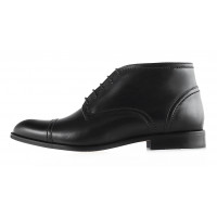 Ботинки осенние кожаные CONHPOL DYNAMIC (Poland ) 2945 черные
