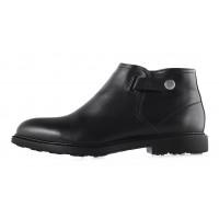 2949 CONHPOL (Poland ) Ботинки осенние кожаные черные