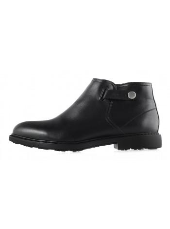 Ботинки осенние кожаные CONHPOL DYNAMIC (Poland ) 2949 черные