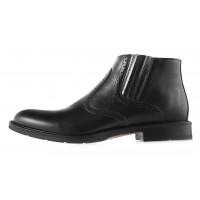 2952 CONHPOL (Poland ) Ботинки осенние кожаные черные