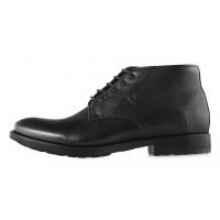 2953 CONHPOL (Poland ) Ботинки осенние кожаные черные
