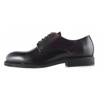 2956 DASTHON (Italy) Туфли кожаные темно-коричневые