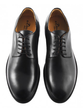 2957 DASTHON (Italy) Туфли кожаные черные