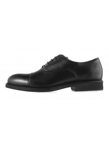 2958 DASTHON (Italy) Туфли кожаные черные