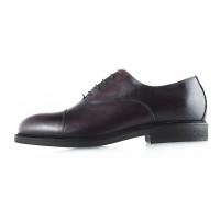 2959 DASTHON (Italy) Туфли кожаные темно-коричневые