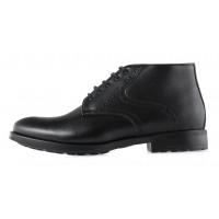 2966 CONHPOL (Poland ) Ботинки зимние кожаные черные