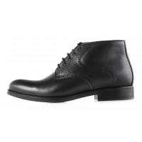 2969 CONHPOL (Poland ) Ботинки зимние кожаные черные