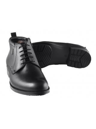 2970 CONHPOL (Poland ) Ботинки зимние кожаные черные