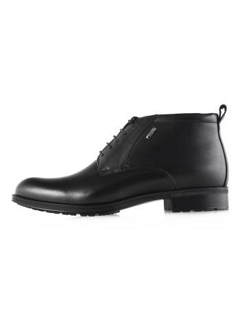 Ботинки зимние кожаные CONHPOL DYNAMIC (Poland ) 2970 черные