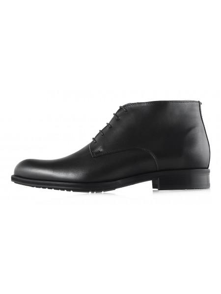 Ботинки зимние кожаные CONHPOL DYNAMIC (Poland ) 2971 черные