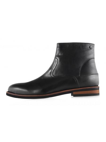 Ботинки зимние кожаные BADURA (Poland ) 2979 черные