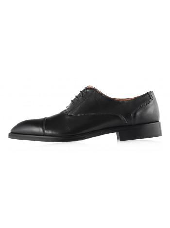 Туфли кожаные ADOLFO CARLI (ИТАЛИЯ) 2986 черные