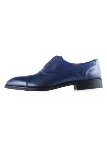 Туфли кожаные ADOLFO CARLI (ИТАЛИЯ) 2987 синие