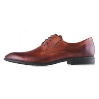 2989 KWINTO (Poland) Туфли кожаные коричневые