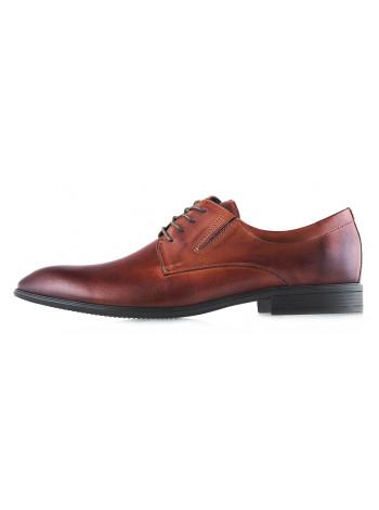 Туфли кожаные KWINTO (Poland ) 2989 коричневые