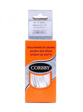 3335 CORBBY (Poland ) Шнурки плоские 120см.