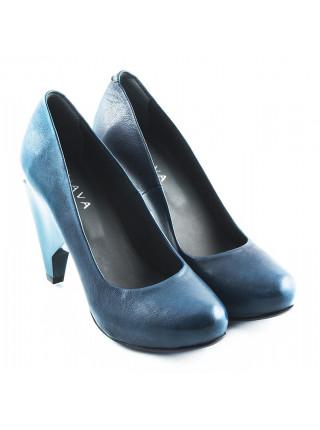 10434 GUAVA (Portugal) Туфли кожаные синие
