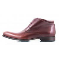 2429 CONHPOL (Poland ) Ботинки осенние кожаные коричневые