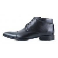 Ботинки осенние кожаные CONHPOL DYNAMIC (Poland ) 2431 черные