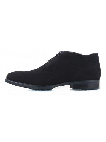 Ботинки зимние замшевые CONHPOL DYNAMIC (Poland ) 2432 черные