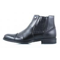 2437 CONHPOL (Poland ) Ботинки кожаные зимние черные