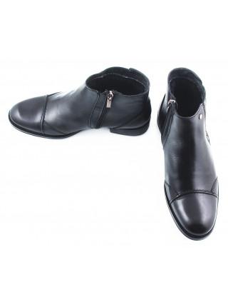 Ботинки зимние кожаные CONHPOL DYNAMIC (Poland ) 2437 черные