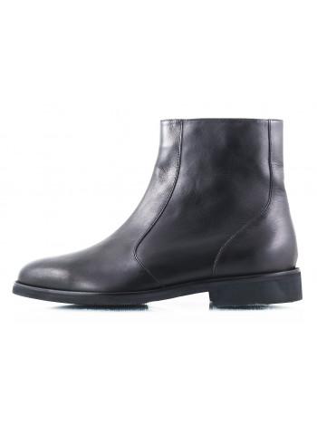 2463 OFFICINE FIORENTINE (Italy) Ботинки зимние кожаные черные