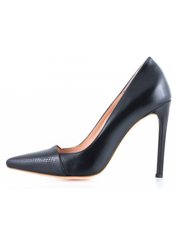 10556 RYLKO (Poland ) Туфли кожаные черные