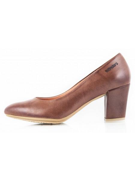 Туфли кожаные WONDERS (ИСПАНИЯ) 10675 коричневые