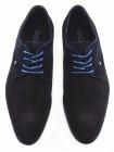 BADURA (Poland) Туфли сетка замшевые темно-синие