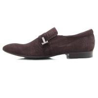 Туфли нубуковые CONHPOL DYNAMIC (Poland ) 2067 коричневые