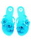 10771 ZAXY (Brazil) Шлепки резиновые голубые