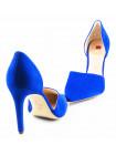 10792 HOGL (Austria) Туфли открытые замшевые синие