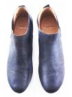 10845 CAPRICE (Germany) Полуботинки осенние замшево-лаковые синие